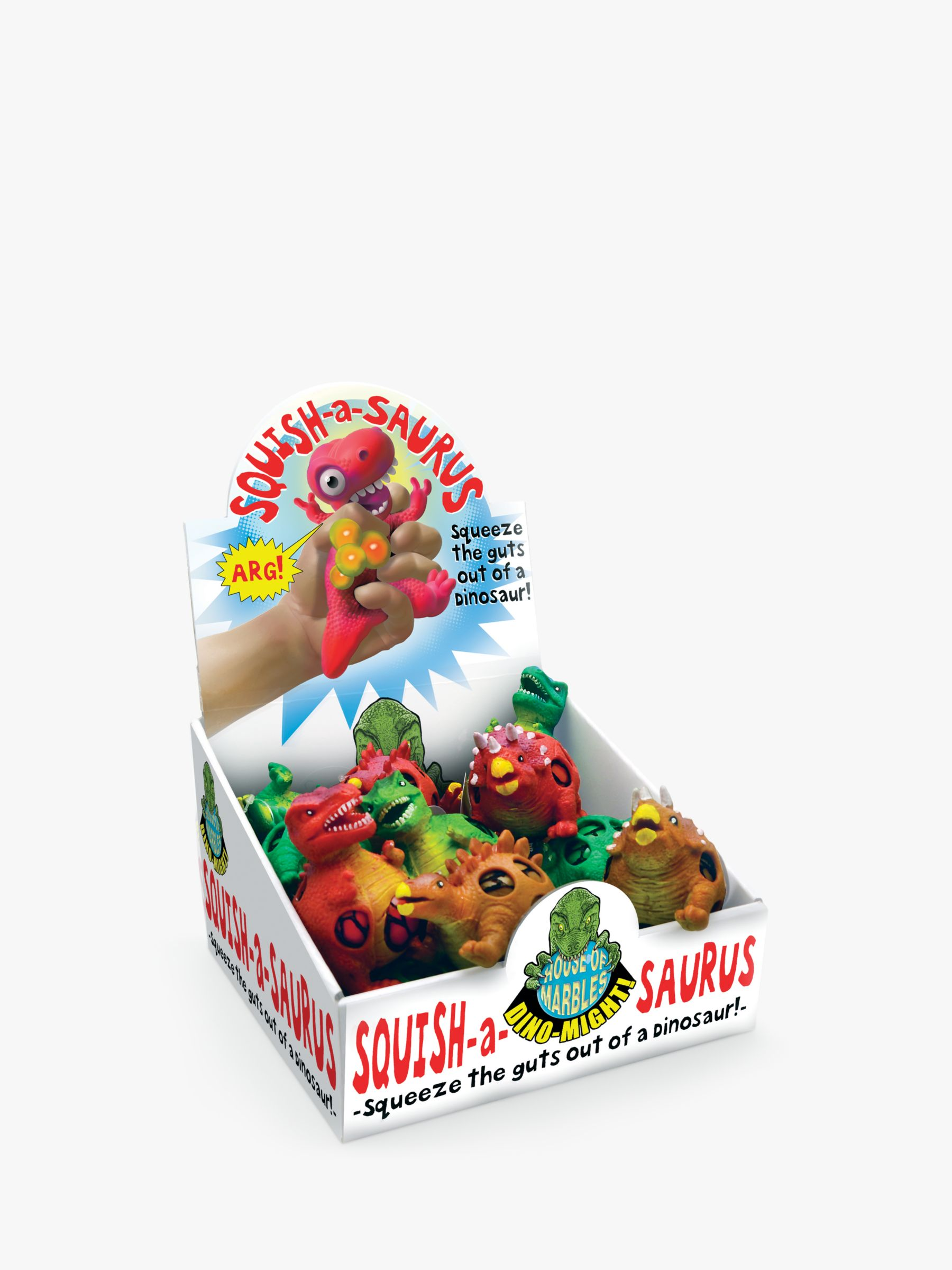 House of Marbles House of Marbles Squish-a-saurus Squeeze Toy