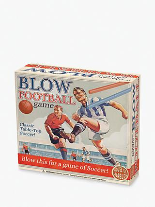 House of Marbles Blow Football Game
