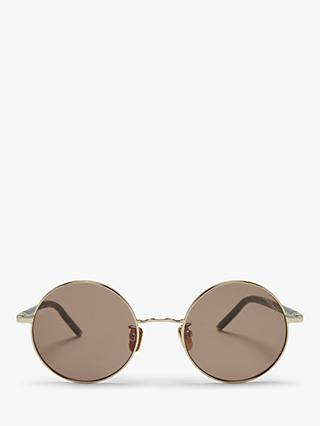 Mulberry Women's Lenny Small Round Metal Sunglasses