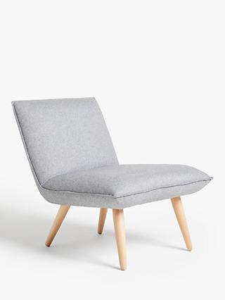 Tuck Range, House by John Lewis Tuck Accent Armchair, Light Leg