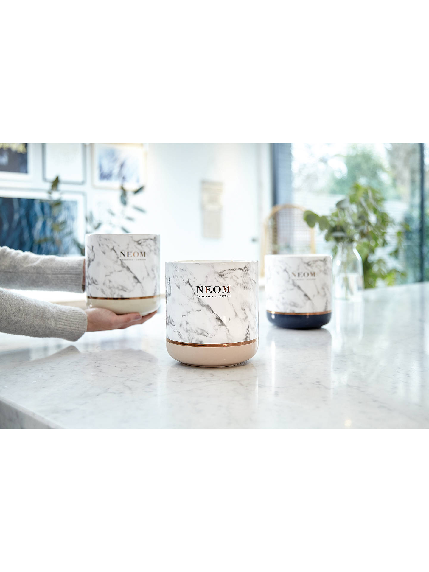 Buy Neom Organics London Ultimate Gifting Happiness Scented Candle Online at johnlewis.com