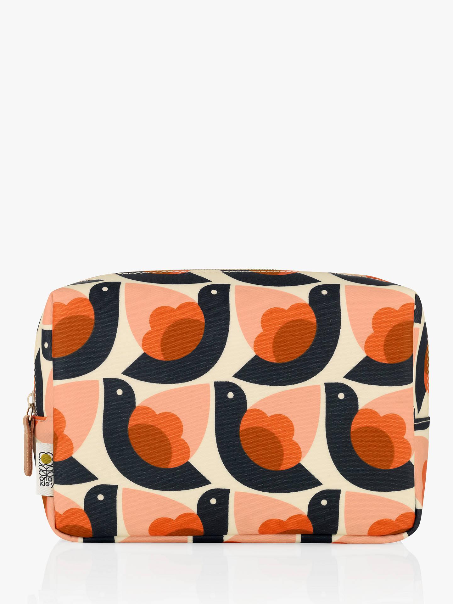 Orla Kiely Dove Medium Wash Bag Multi