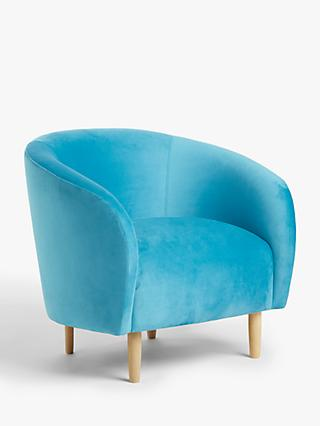 House by John Lewis Scoop Armchair, Light Leg
