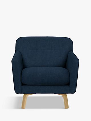House by John Lewis Archie II Armchair, Light Leg