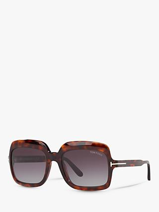 2c509dfde512 TOM FORD FT0688 Women s Wallis Rectangular Sunglasses