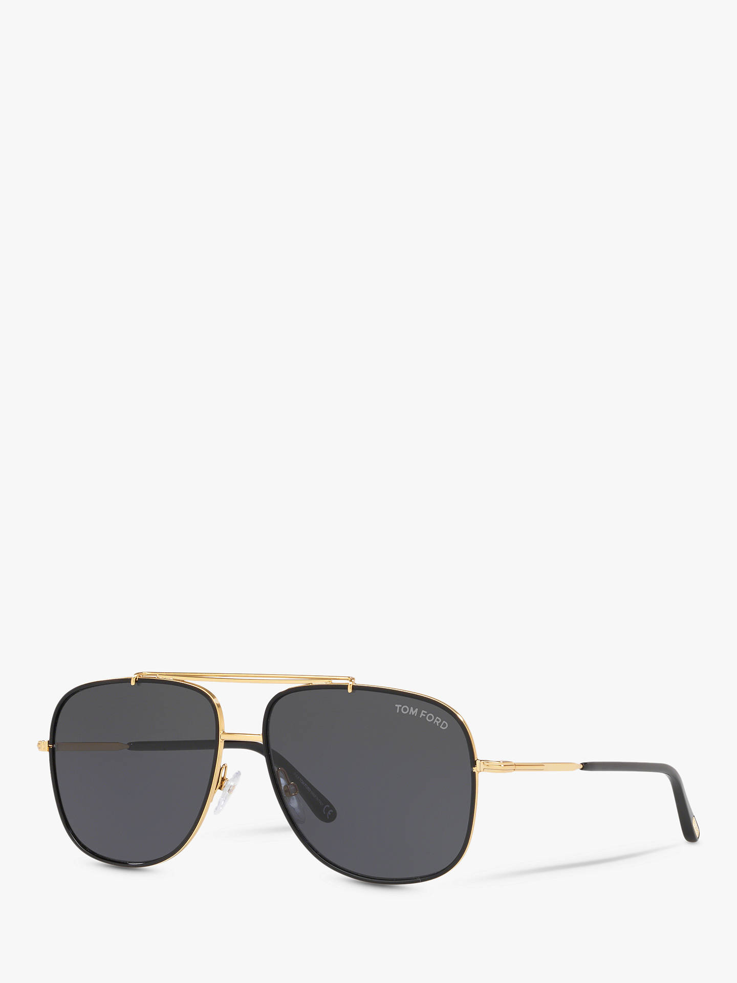 28b76f7a2664 TOM FORD FT0693 Men s Benton Square Sunglasses at John Lewis   Partners