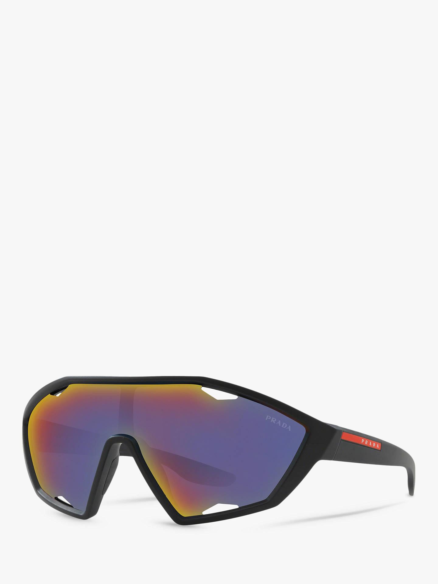 37e1edbcc3c7 Buy Prada PS 10US Men s Wrap Sunglasses