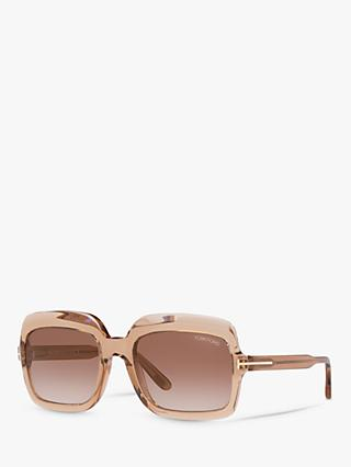 TOM FORD FT0688 Women's Wallis Rectangular Sunglasses