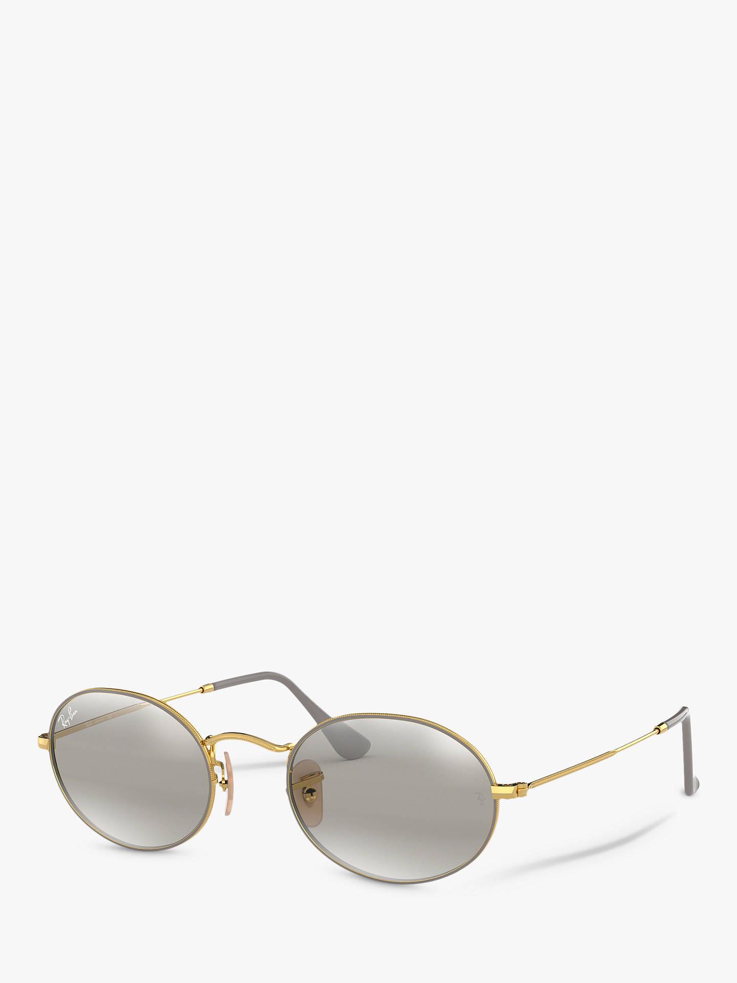 08b34f2272 BuyRay-Ban RB3547 Unisex Oval Flat Lens Sunglasses