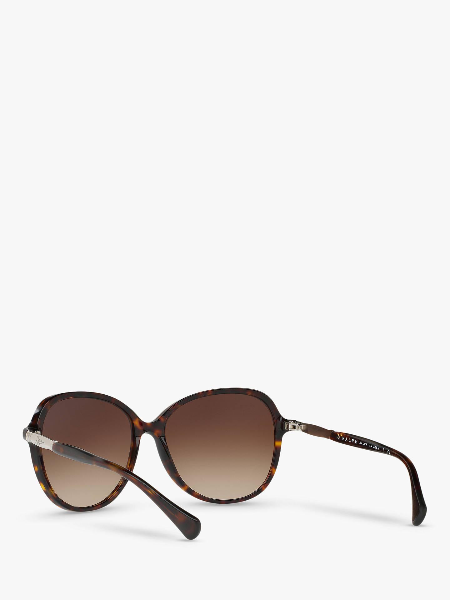 e46234ae83f4 Buy Ralph RA5220 Women's Oversize Square Sunglasses, Tortoise/Brown  Gradient Online at johnlewis.