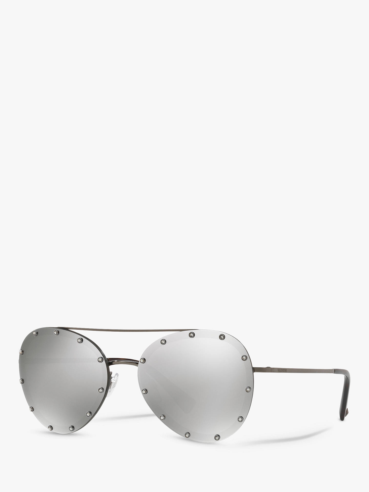 ee2906b691f26 Valentino VA2013 Women s Aviator Sunglasses at John Lewis   Partners