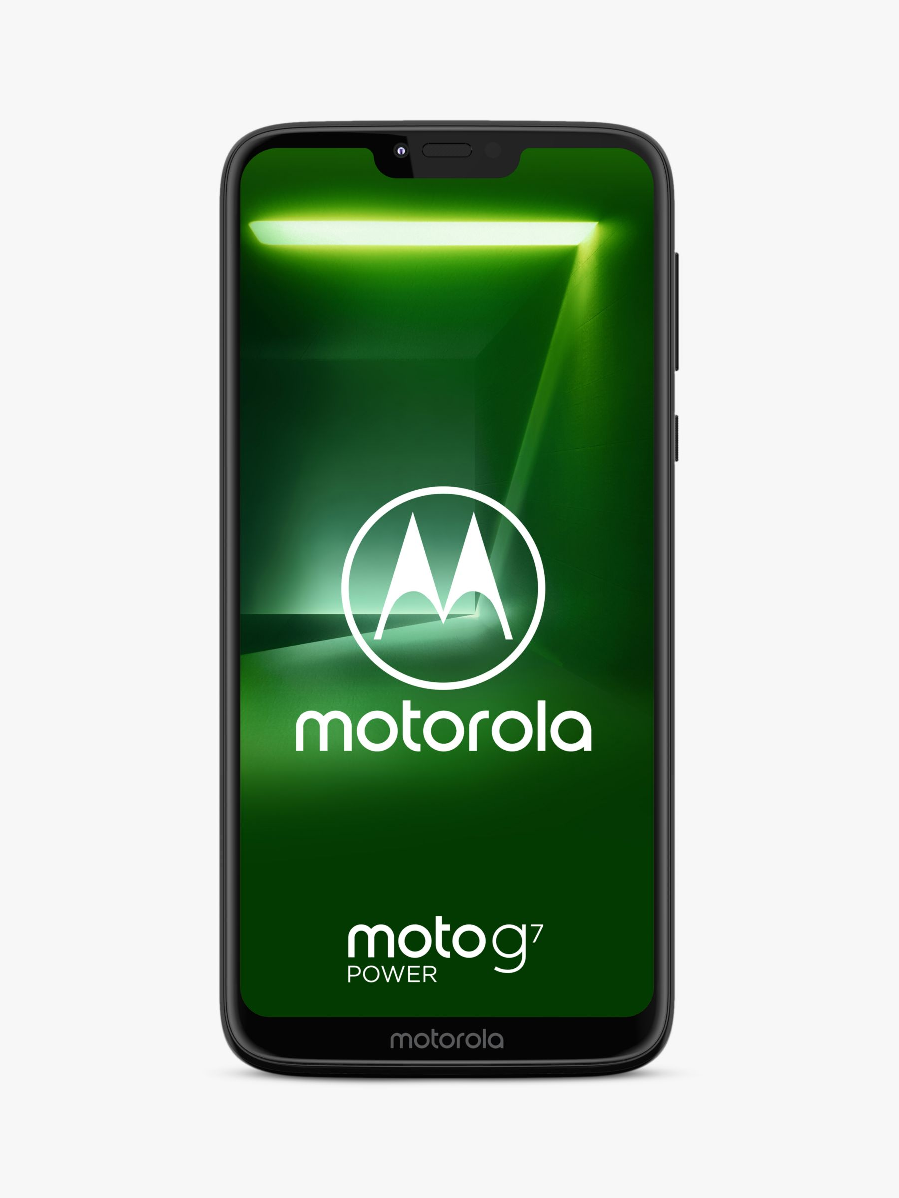 Motorola Motorola g7 Power SIM Free Smartphone, Android, 6.2, 4G LTE, SIM Free, 64GB