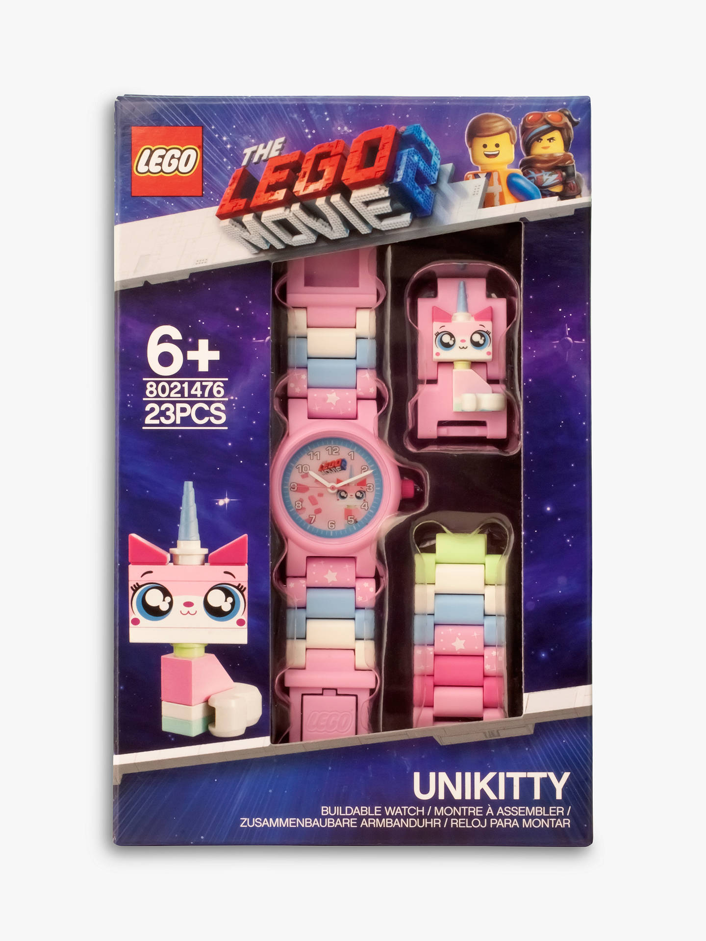 Lego The Lego Movie 2 Unikitty Link Watch At John Lewis Partners