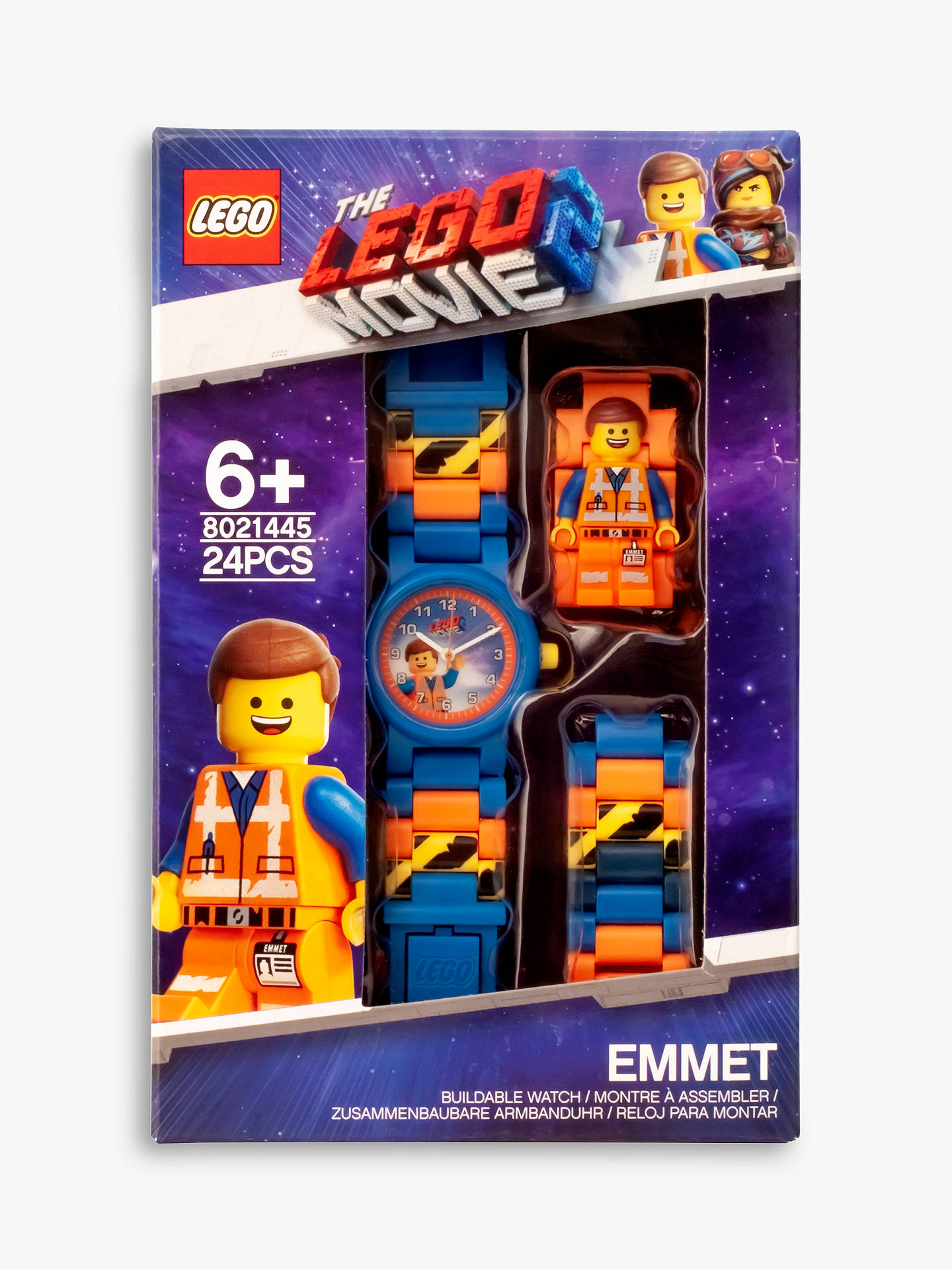 Lego The Lego Movie 2 Emmet Minifigurine Link Watch At John Lewis Partners