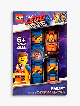 LEGO THE LEGO MOVIE 2 Emmet Minifigurine Link Watch