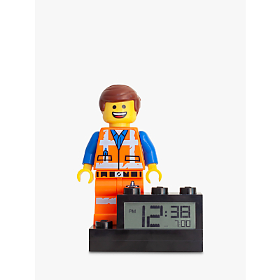 LEGO THE LEGO MOVIE 2 Emmet Alarm Clock