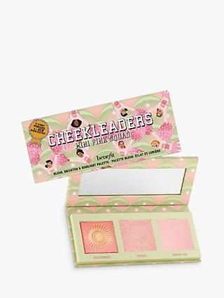 Benefit Cheekleaders Highlight, Contour & Bronze Mini Palette, Pink Squad