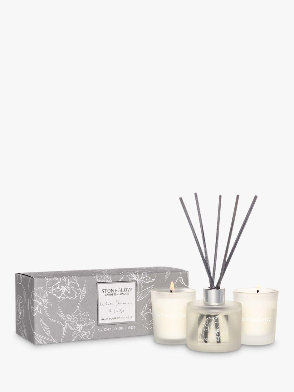 Stoneglow Stoneglow Day Flower White Jasmine & Lily Gift Set