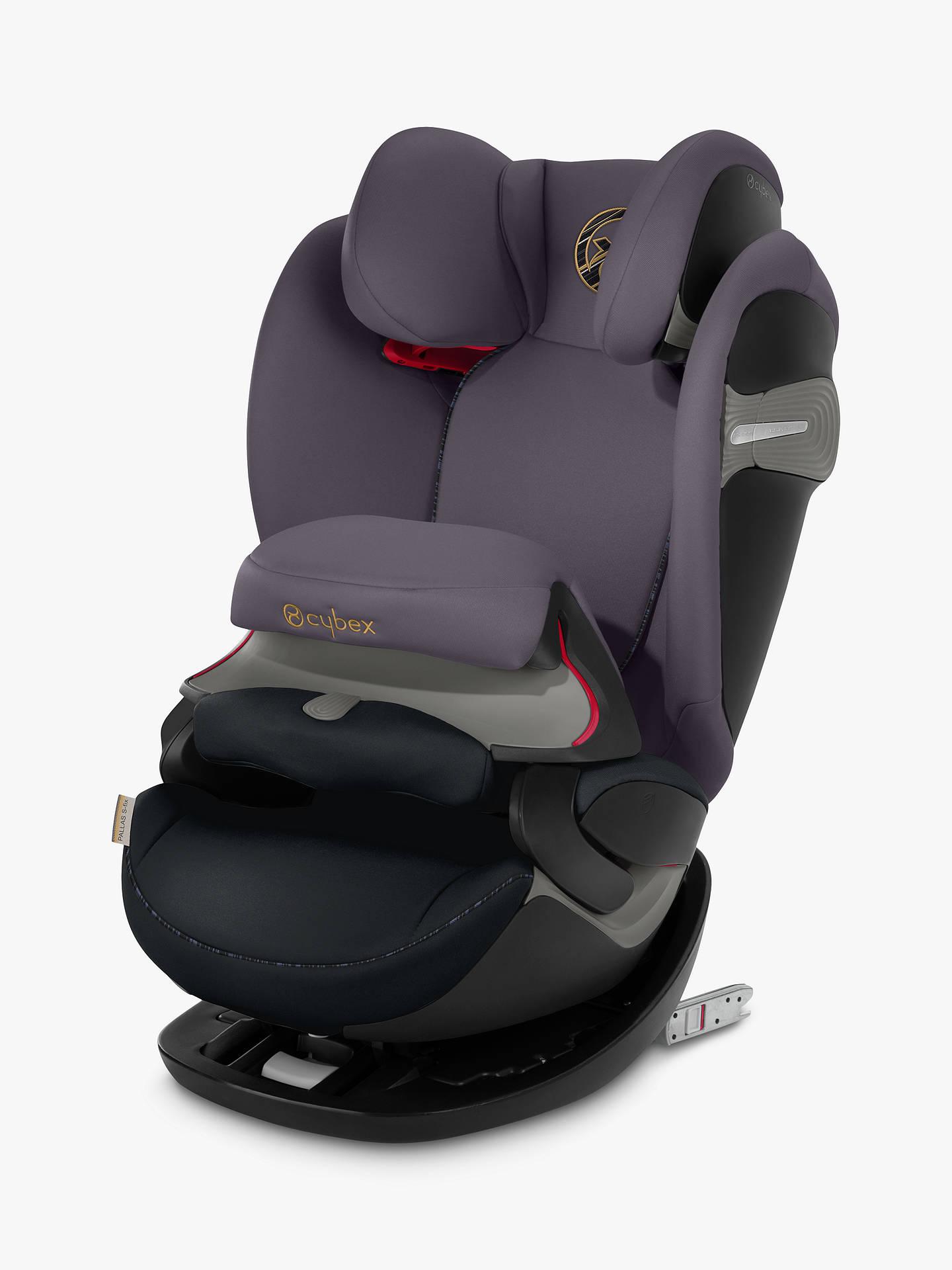 Cybex Pallas S Fix Group 1/2/3 Car Seat, Premium Black by Cybex