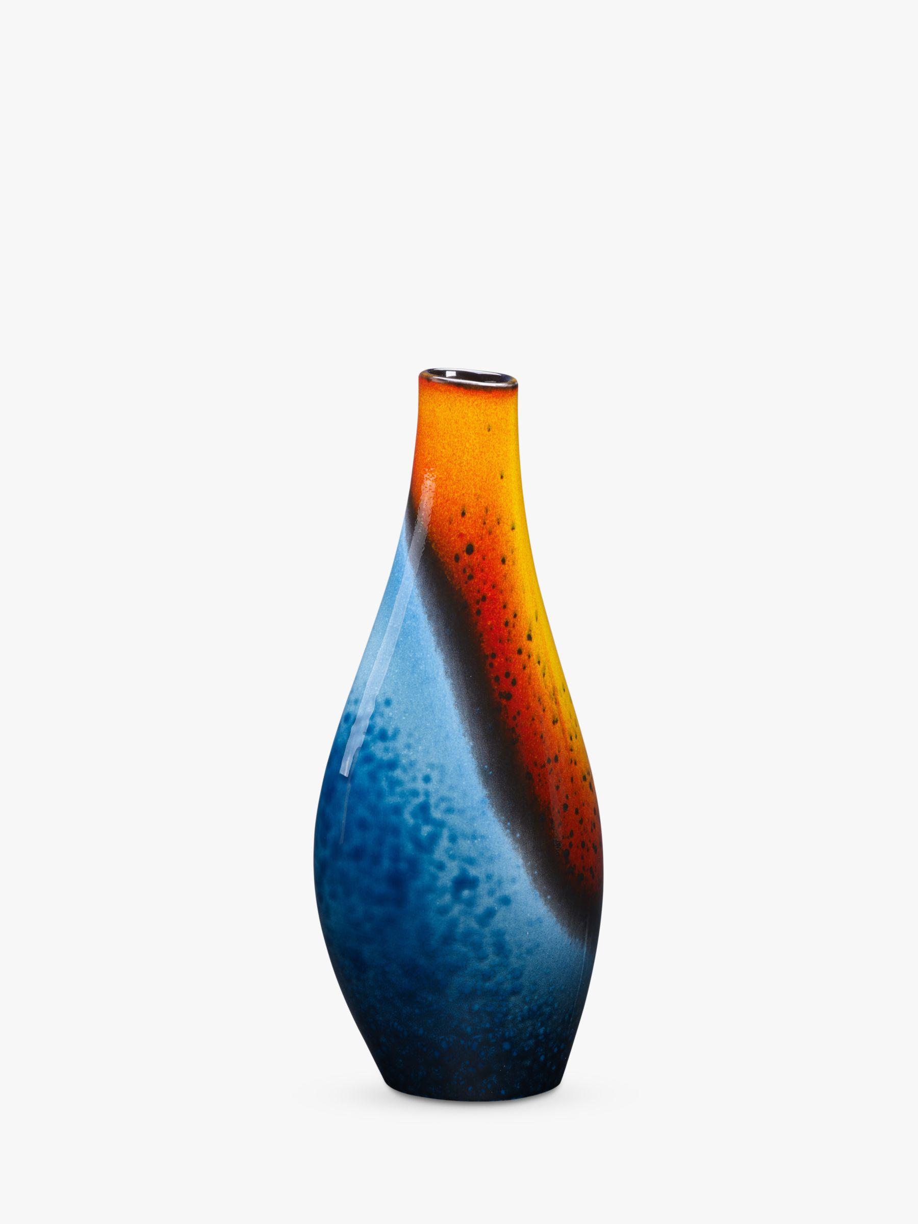 Poole Pottery Poole Pottery Flare Asymmetrical Twist Vase, H34cm