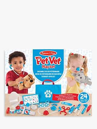 Melissa & Doug Role Play Pet Vet Play Set
