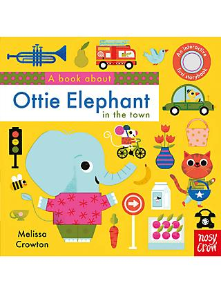 A Book About Ottie Elephant In The Town Children's Book