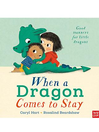 When a Dragon Comes to Stay Children's Book