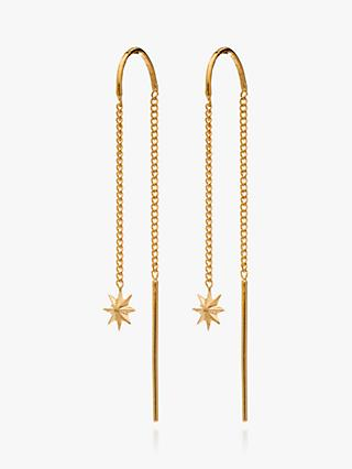 Rachel Jackson London Rock Star Thread Drop Earrings