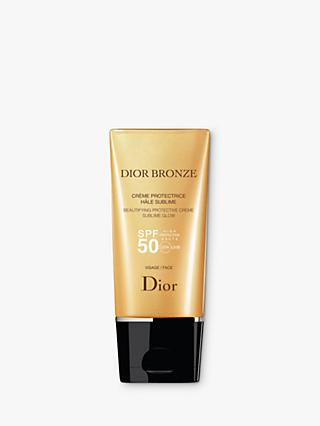 Dior Bronze Beautifying Protective Creme Sublime Glow SPF 50, 50ml