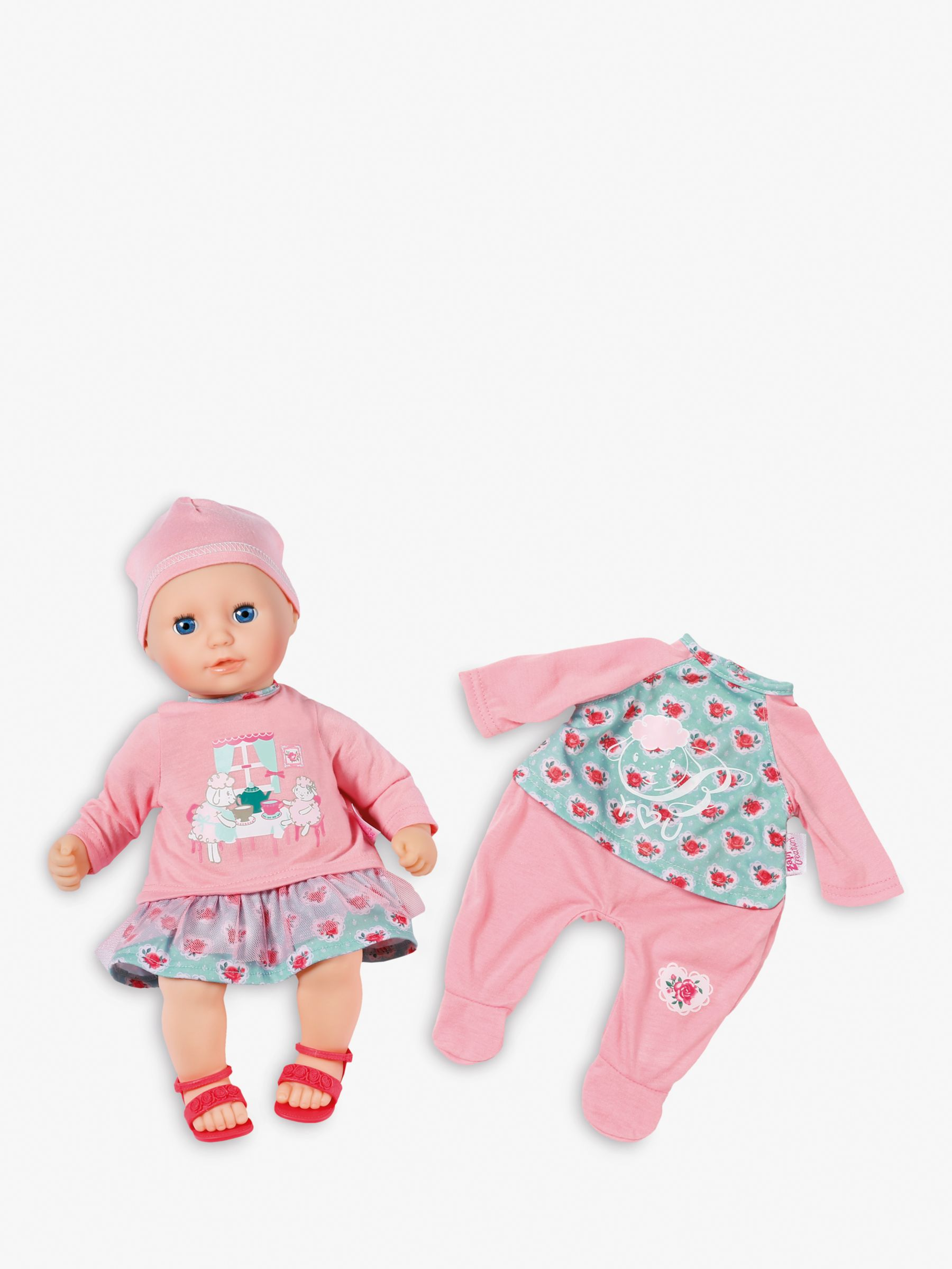 Zapf Zapf Baby Annabell and Dress Doll