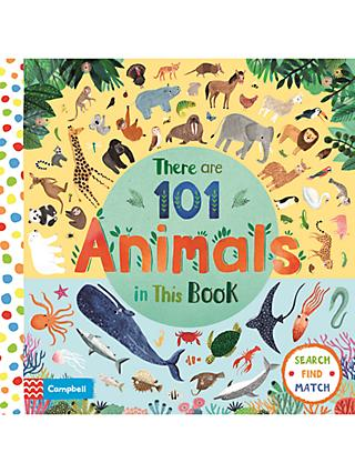 There Are 101 Animals In This Book Children's Book