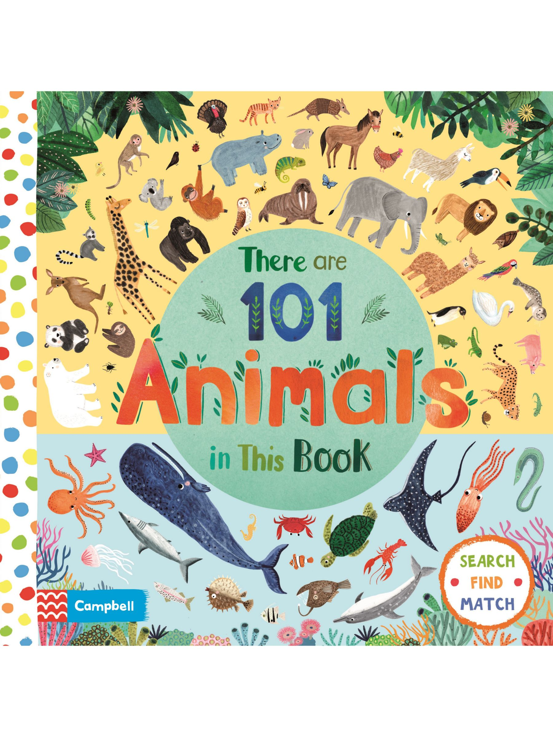 Macmillan There Are 101 Animals In This Book Children's Book