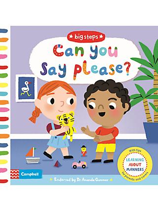 Can You Say Please? Children's Book