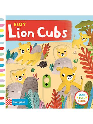 Busy Lion Cubs Children's Book
