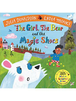 The Girl, The Bear and The Magic Shoes Children's Book