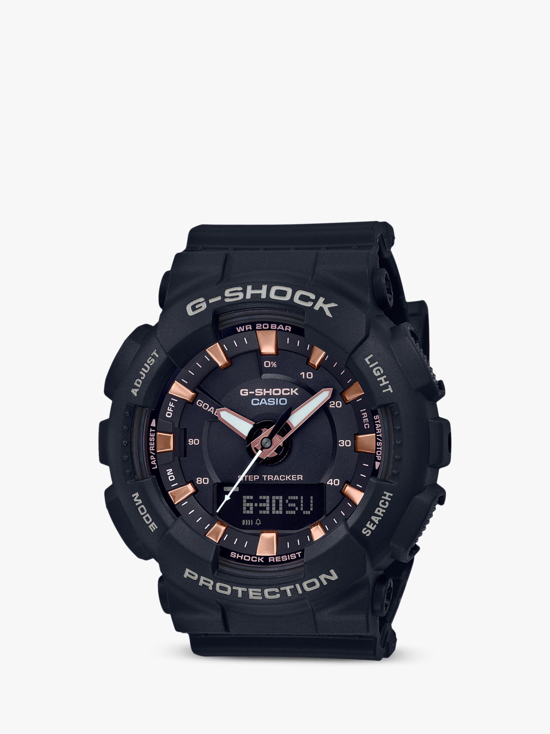 Casio Casio Unisex G-Shock Step Tracker Resin Strap Watch