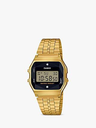 7289d5df13b7 Casio A159WGED-1EF Women s Core Bracelet Strap Watch