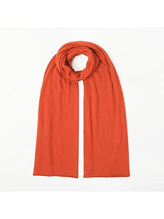 John Lewis & Partners Plain Knitted Scarf