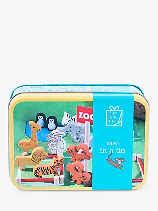 Apples to Pears Zoo Set Gift in a Tin