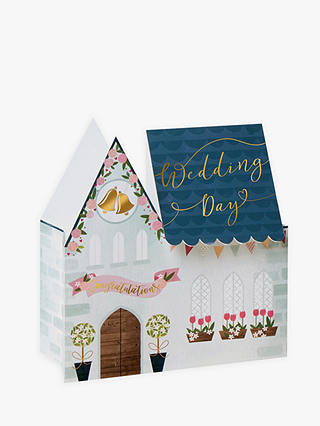 Buy Art File 3D Church Wedding Card Online at johnlewis.com