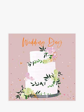 Belly Button Designs Cake Wedding Card