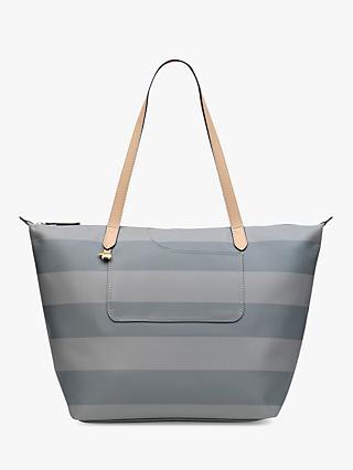d37902358c8c Radley Pocket Essentials Striped Fabric Large Tote Bag, Pond
