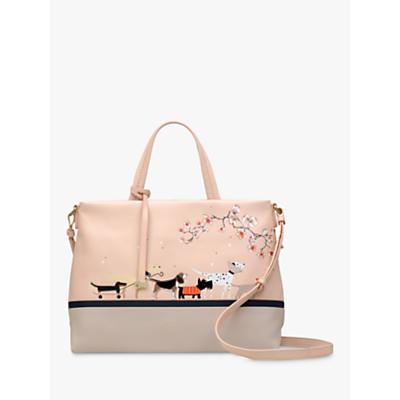 Radley Radley & Friends Leather Medium Grab Bag, Blush