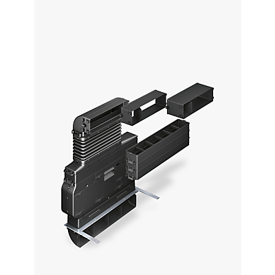 Neff Z8200X1 Integrated Vent Accessory for Neff T48TD1BN0 Hob, Black