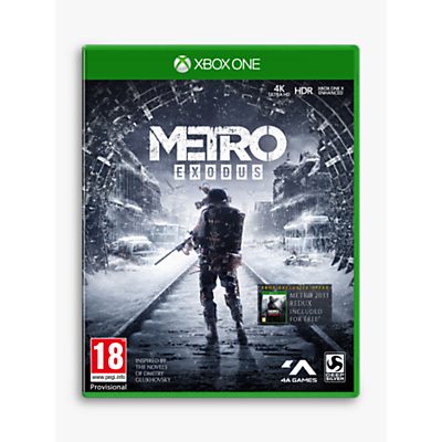 Metro: Exodus, Xbox One