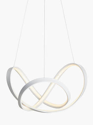 Buy John Lewis & Partners Cloud LED Ceiling Light, White Online at johnlewis.com