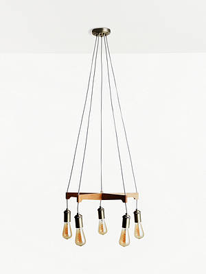 Buy John Lewis & Partners Lachlan Ceiling Light, FSC-Certified (Oak) Online at johnlewis.com