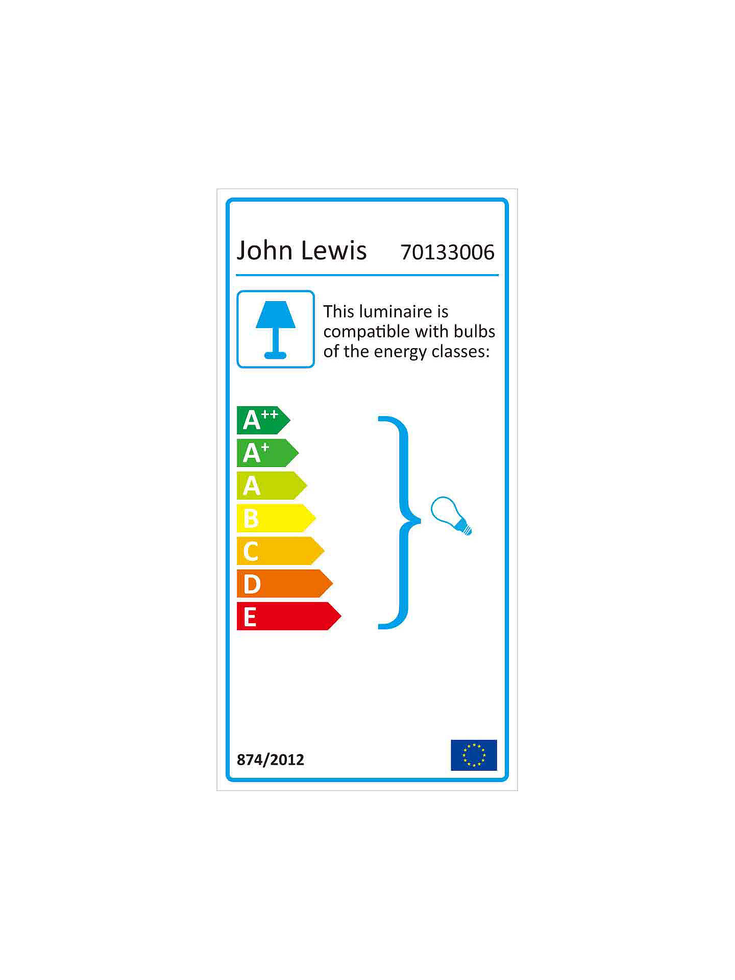 John Lewis & Partners Dazzle Crystal