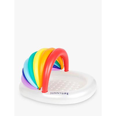Sunnylife Rainbow Kiddy Ring Pool, Multi