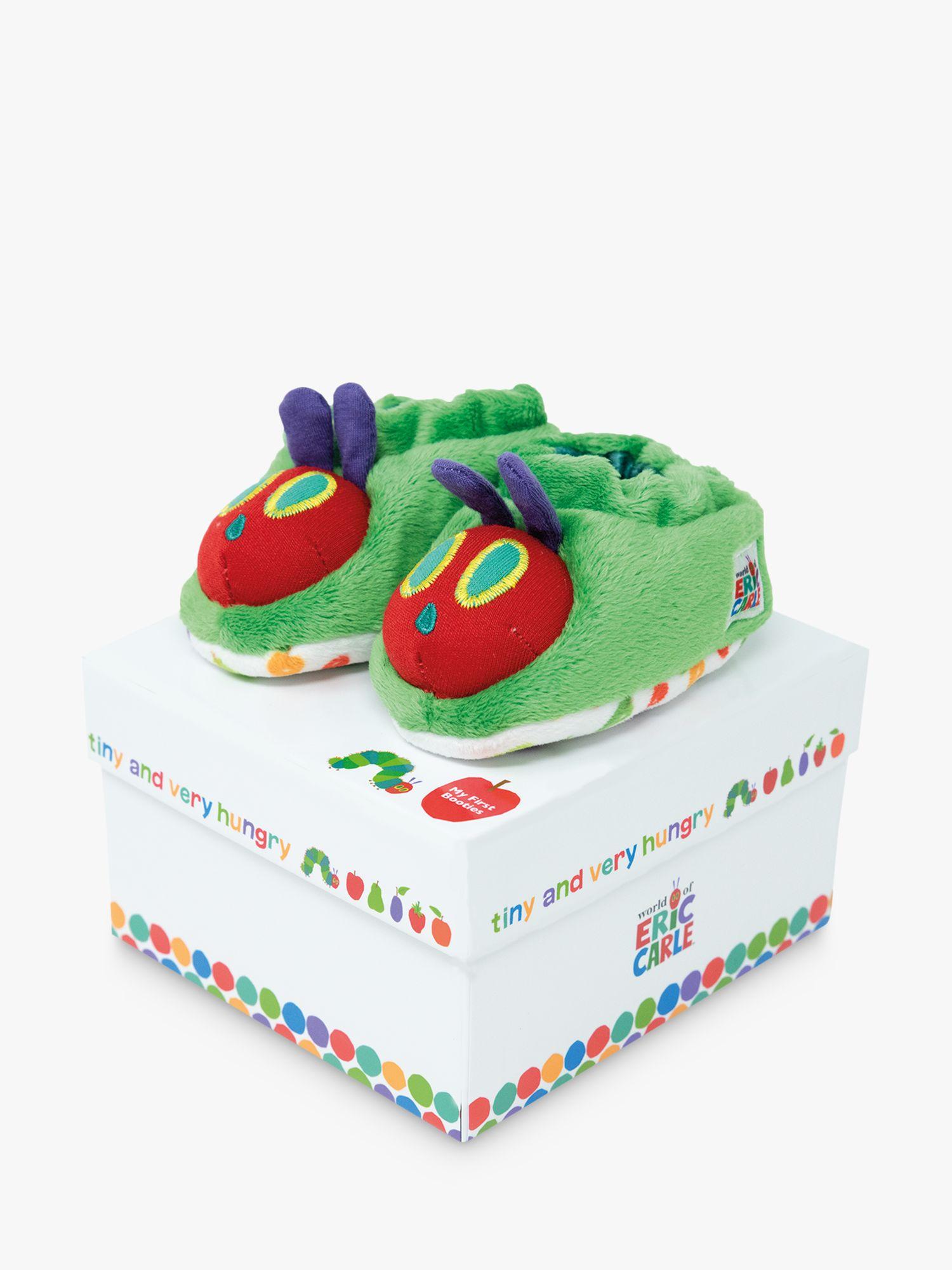 Rainbow Designs Very Hungry Caterpillar Tiny Baby Booties, Multi